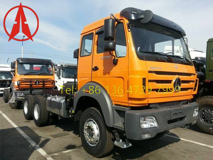 15 units beiben V3 tractor trucks and beiben dumpers are shipped saudi arabia
