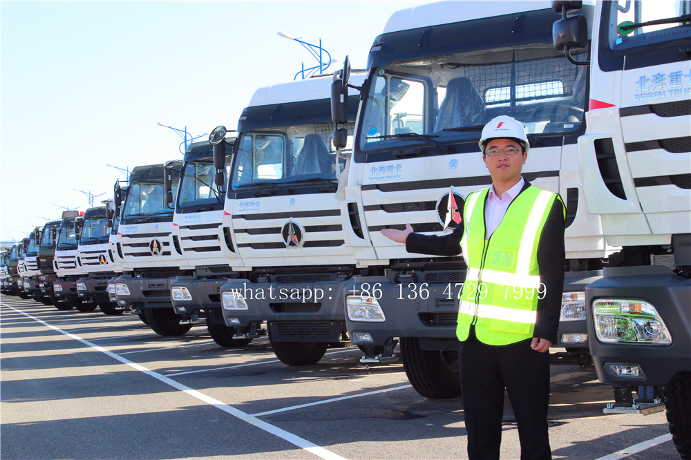Algeria - 20 units beiben 2538 prime movers are exported