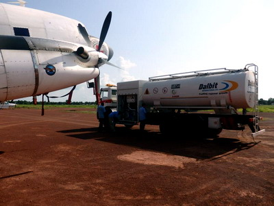 beiben airport refuel tanker trucks for congo customer