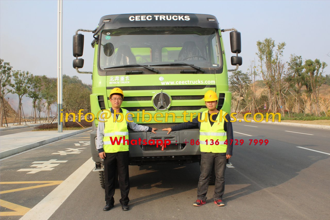 China beiben 2534 dump truck