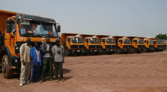 Angola, Luanda customer place order of 40 units beiben 2538K dump trucks