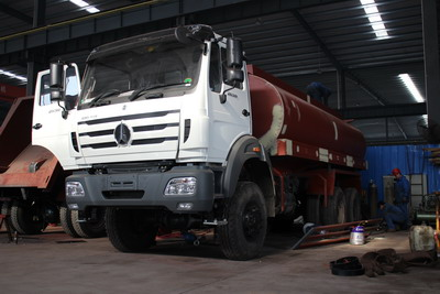 How to build a good quality beiben water tanker truck?