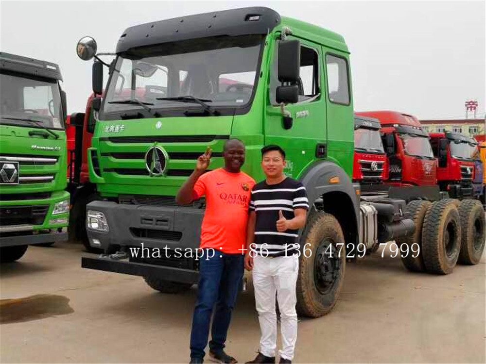Congo- Beiben 2638 trucks parts are exported