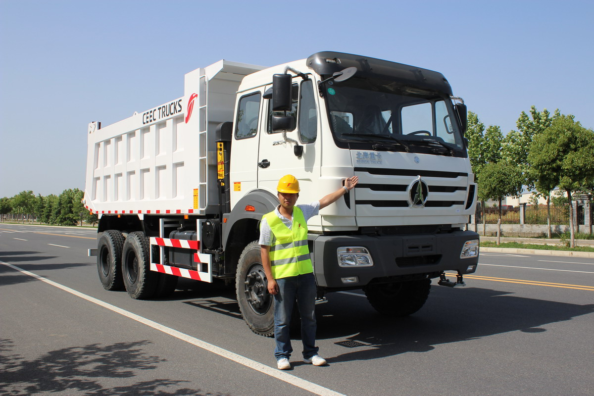 Beiben 2534 dump truck for CONGO customer