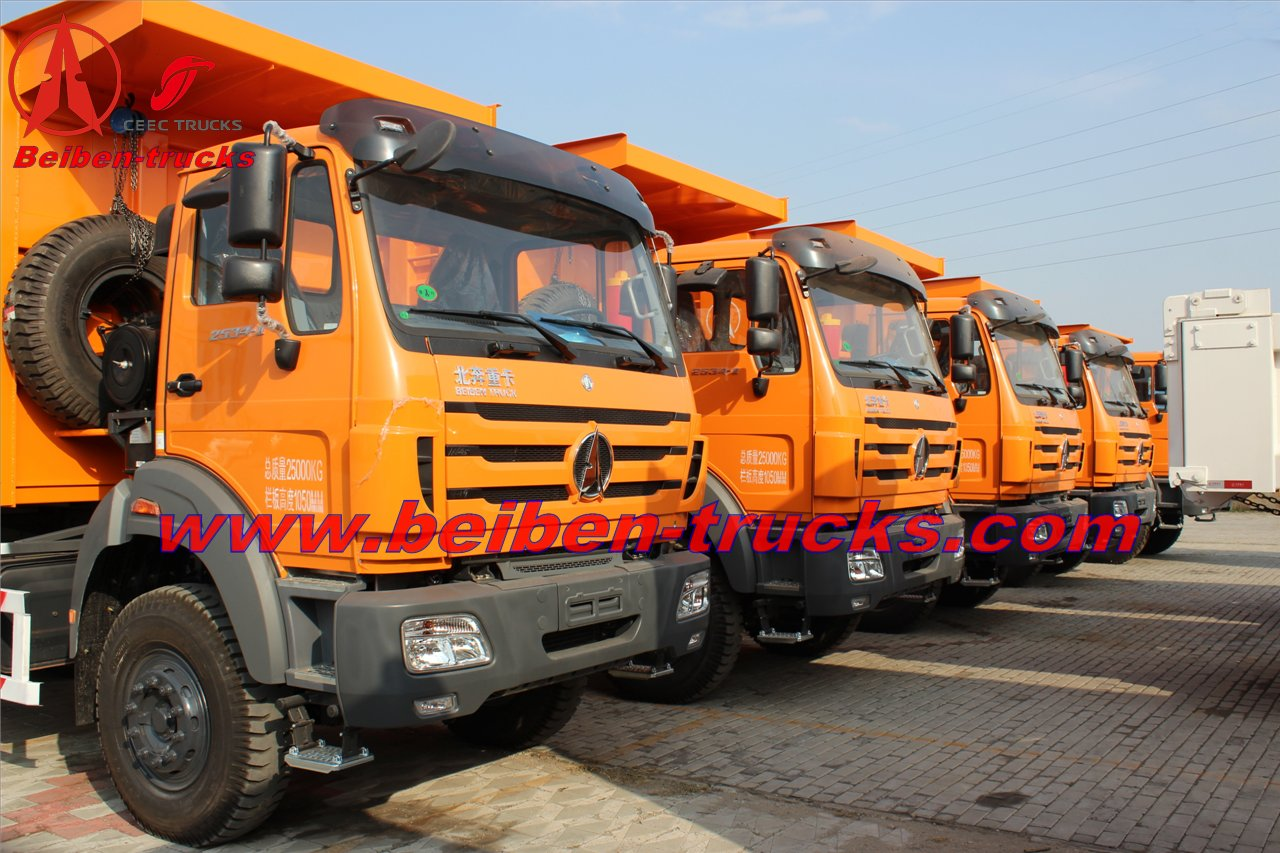 beiben 30 T dump truck for exporting to africa