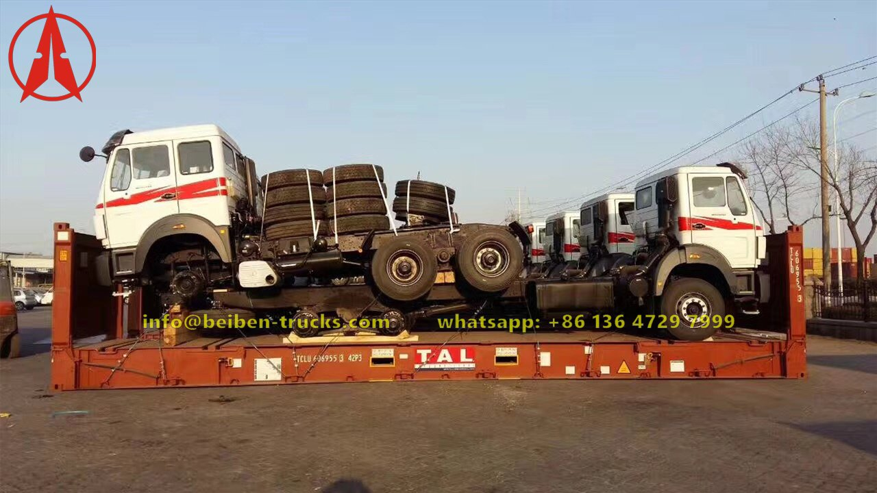 12 units beiben 2638 prime mover export to algeria