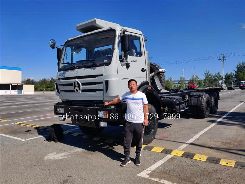 Nigeria- beiben 2628 off road trucks were exported