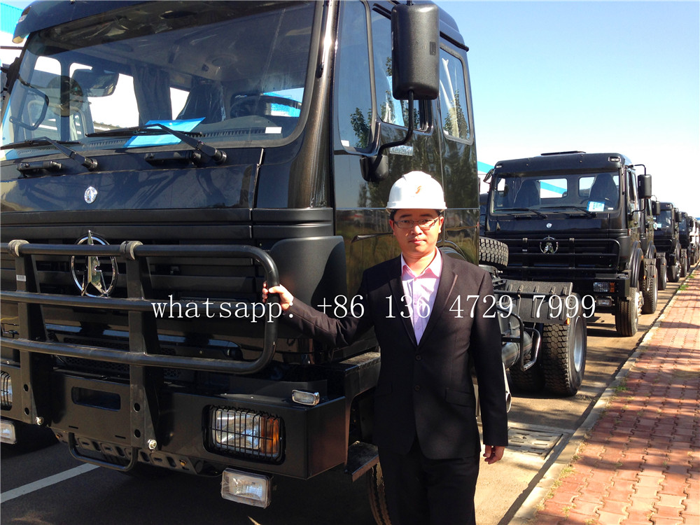 Ethopia- 30 units beiben 4×4 trucks are exported