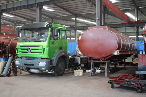 How to produce beiben 2530 fuel truck  ?