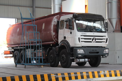 How to buil a good quality beiben fuel tanker truck?