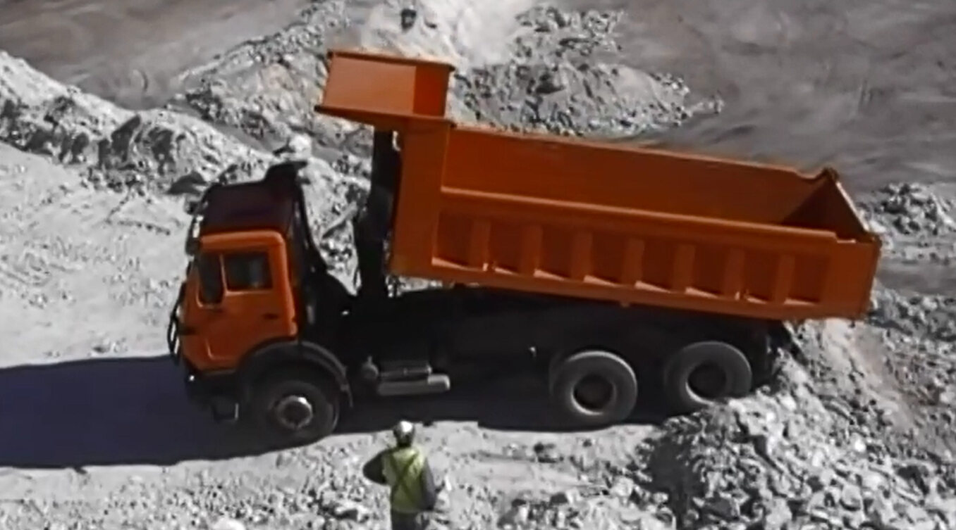 Beiben 2534K dump truck in customer mine site
