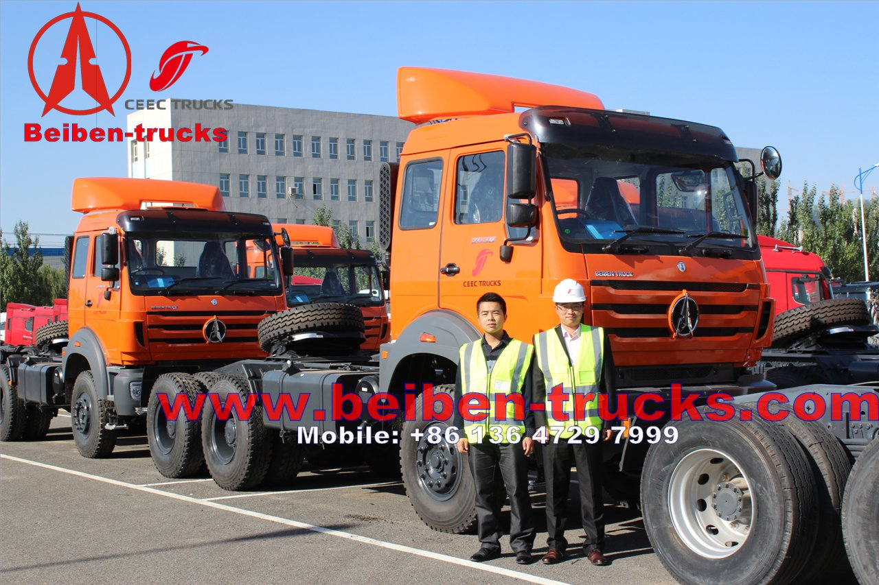 Baotou north benz 2638 right hand drive tractor truck for exporting