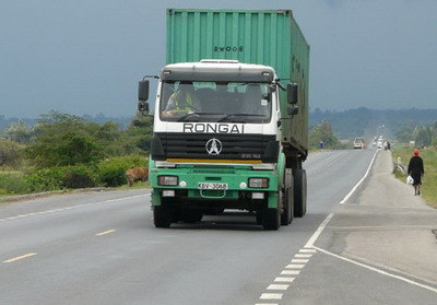 Kenya Rongai logistic group apply beiben 2538 tractor truck for container transportation