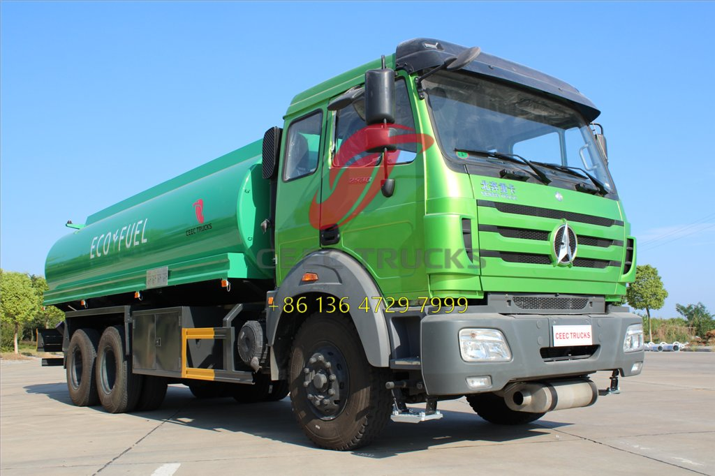 3 units Beiben 2530 fuel tanker truck in stock on big sale